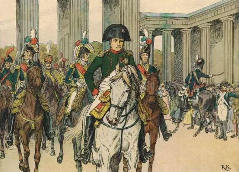 http://www.koenigin-luise.com/Napoleon/Berlin/EinzugNapoleonBerlin27Okt1808_RKred.jpg